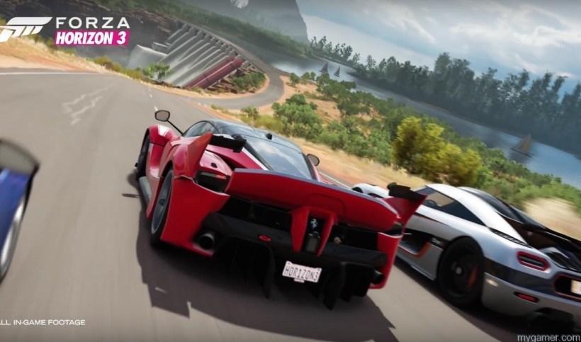 forza horizon 3 gameplay and multiplayer