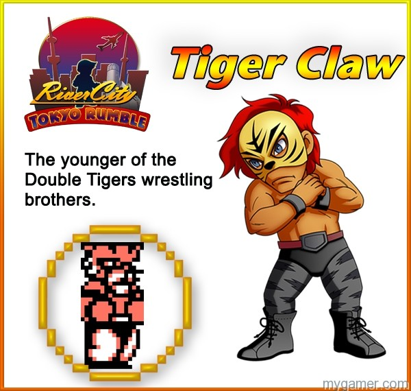 TigerClaw Learn About River City: Tokyo Rumble's Cast Here Learn About River City: Tokyo Rumble's Cast Here TigerClaw