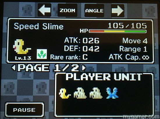 ambition-of-the-slimes-menu Ambition of the Slime 3DS eShop Review Ambition of the Slimes 3DS eShop Review Ambition of the Slimes Menu