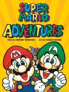 Super Mario Adventures graphic novel cover