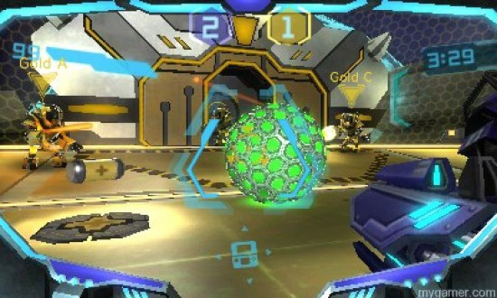 Blast Ball is a fun distraction Metroid Prime Federation Force 3DS Review Metroid Prime Federation Force 3DS Review Federation Force blast ball