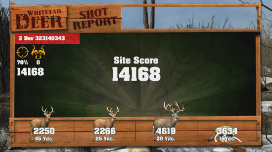 Tallying the score doesn't mean much without a quality leaderboard. Big Buck Hunter Arcade Xbox One Review Big Buck Hunter Arcade Xbox One Review Big Buck Hunter Pro score