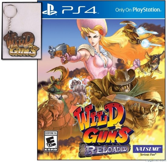 natsume just launched wild guns reloaded for the playstation 4 Natsume just launched Wild Guns Reloaded for the PlayStation 4 Wild Guns Reloaded with Keychain