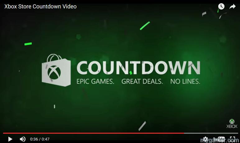Xbox Countdown Sale 2016