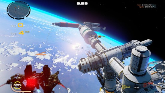 Strike Vector EX PS4 Review Strike Vector EX PS4 Review Strike Vector Ex space
