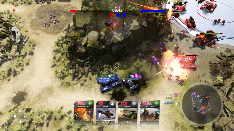 halo wars 2 features a new game mode called blitz