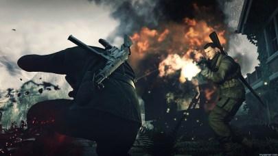 Sniper Elite 4 combat