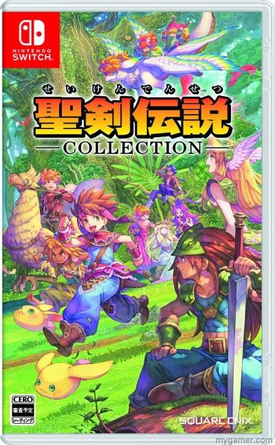 Square Enix Releasing Seiken Densetsu Collection on Nintendo Switch Square Enix Releasing Seiken Densetsu Collection on Nintendo Switch seiken densetsu collection box art