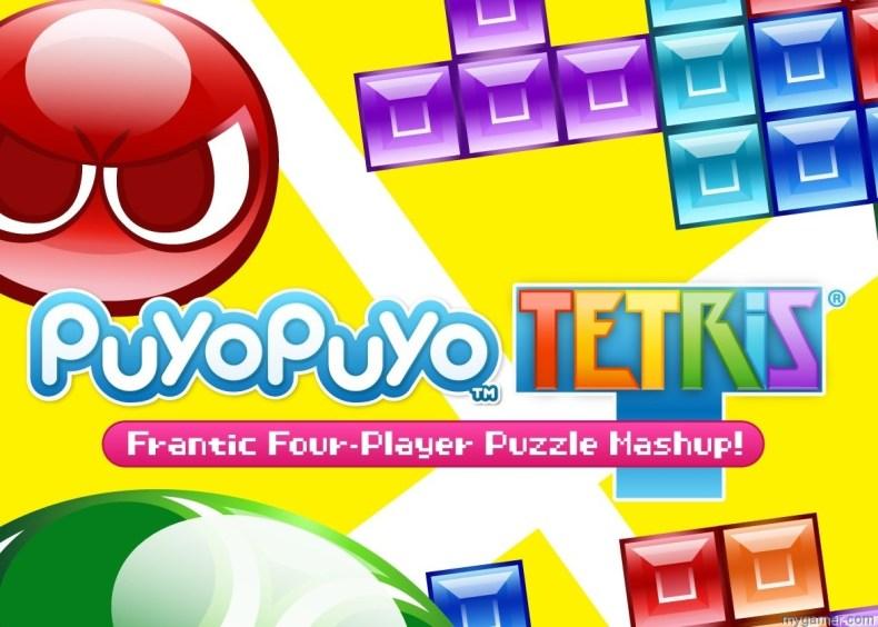 Puyo Puyo Tetris banner