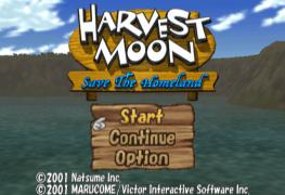 Harvest Moon Save the Homeland title