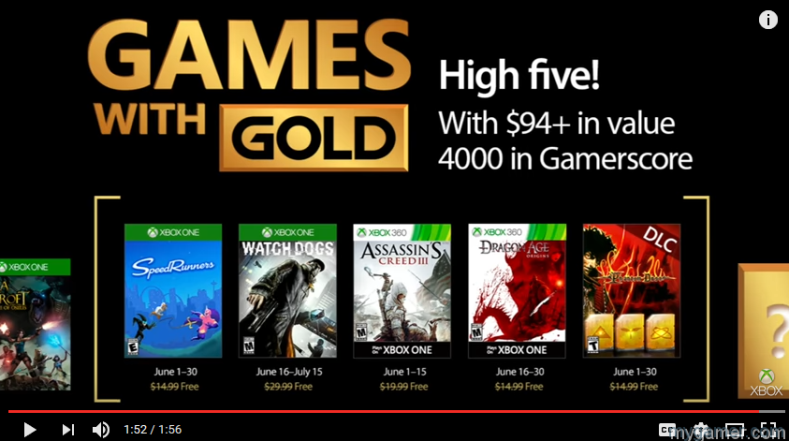 These Are the Free Xbox Games for June 2017 With Added Bonus These Are the Free Xbox Games for June 2017 With Added Bonus Xbox Games with Gold June 2017