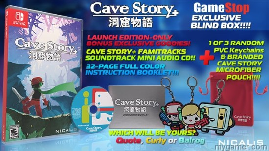 [object object] Cave Story+ Switch Review Cave Story Plus Switch physical