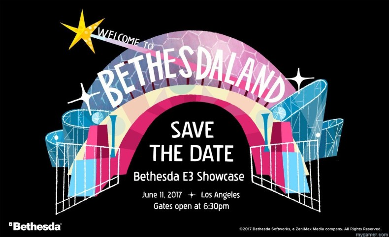 E3 2017 – Bethesda Press Conference Summary E3 2017 – Bethesda Press Conference Summary bethesda E3 2017 invite