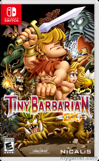 Tiny Barbarian DX Switch cover
