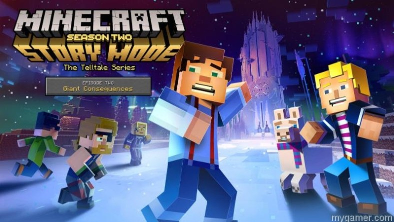 [object object] Minecraft: Story Mode – Season Two Coming Mid-Aug, Switch Gets Physical Season One Minecraft Telltale Season 2