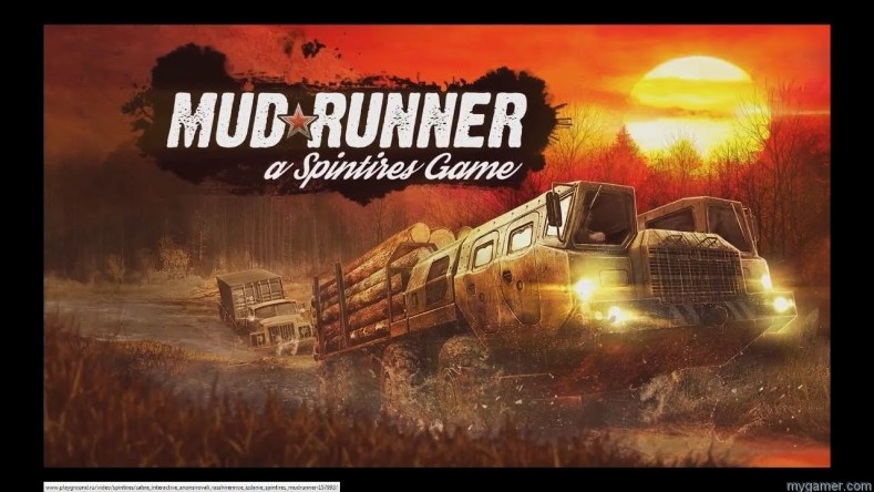 like pulling stuff through mud? check out this spintires: mudrunner trailer Like Pulling Stuff Through Mud? Check Out This Spintires: MudRunner Trailer Mud Runner Spintires