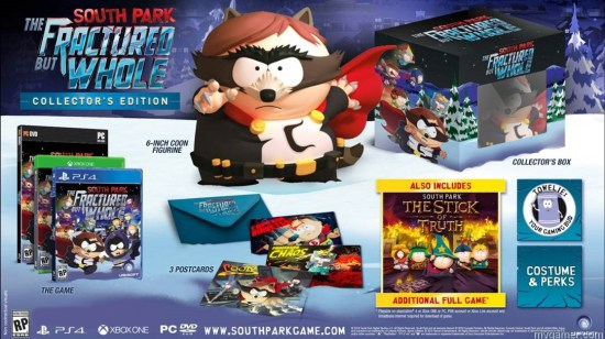 South Park Fractured But Whole collectors edition lockup