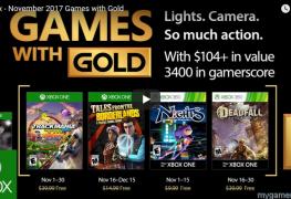 Xbox Gold Nov 2017 Free
