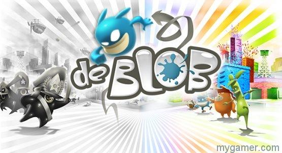 de Blob banner