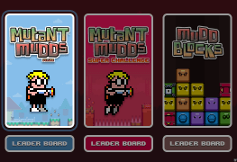 Mutant Mudds collection banner
