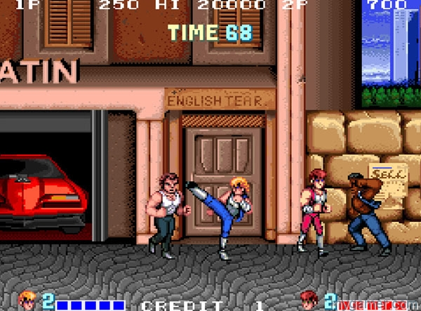 double dragon the arcade version now available on switch Double Dragon the arcade version now available on Switch Double Dragon Arcade