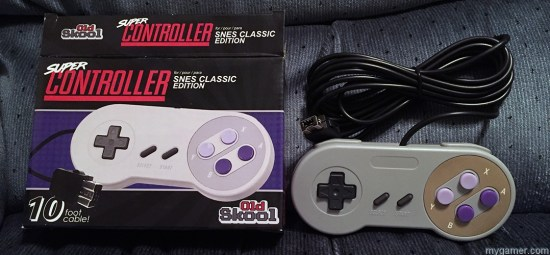 old skool super controller for snes classic review Old Skool Super Controller for SNES Classic Review Old Skoll Super Controller for SNES Classic Box
