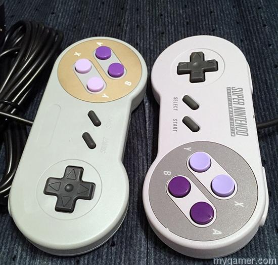 Old Skoll Super Controller for SNES Classic compare