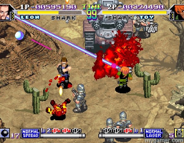 Shock Troopers 2nd squard