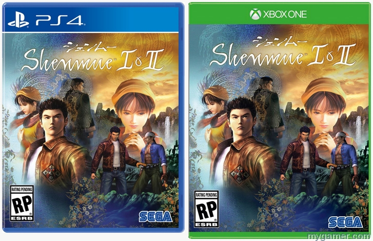 SEGA Announces Shenmue 1 & 2 Remasters