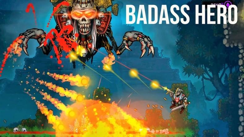 the badass hero looks like a new rogue-lite contra The Badass Hero looks like a new rogue-lite Contra Badass Hero
