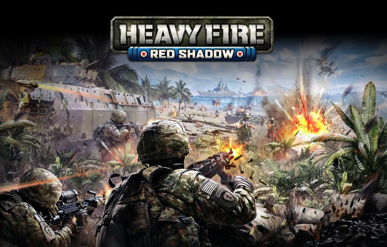 Heavy Fire Red Shadow