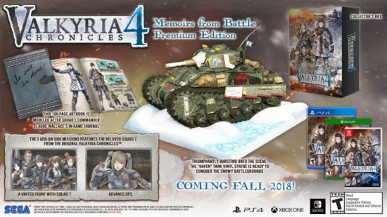 valkyria chronicles 4 gets pre-order bonus Valkyria Chronicles 4 gets pre-order bonus Valkyria Chronicles 4 Memoirs