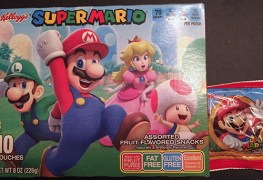 gamer's gullet – kellogg's super mario assorted fruit flavored snacks review Gamer's Gullet – Kellogg's Super Mario Assorted Fruit Flavored Snacks Review Kelloggs Mario Fruit Snacks Box back