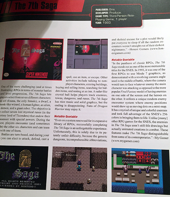 the snes omnibus: the super nintendo and its games, vol. 1 (a–m) book review The SNES Omnibus: The Super Nintendo and Its Games, Vol. 1 (A–M) Book Review SNES Omnibus Vol1 7th Saga MyGamer