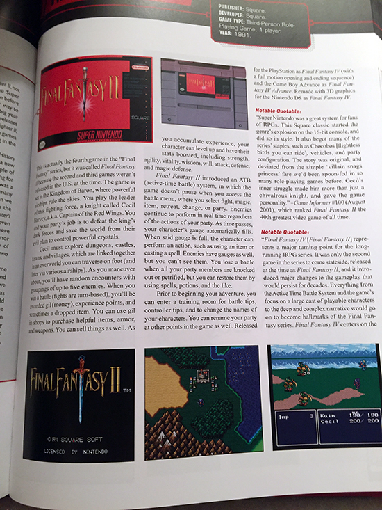 the snes omnibus: the super nintendo and its games, vol. 1 (a–m) book review The SNES Omnibus: The Super Nintendo and Its Games, Vol. 1 (A–M) Book Review SNES Omnibus Vol1 FFII