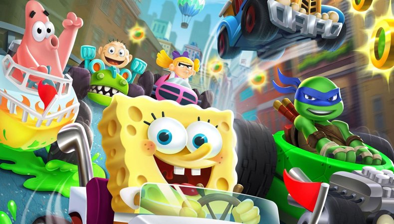 nickelodeon kart racers gets first trailer Nickelodeon Kart Racers gets first trailer Nickelodeon Kart Racers