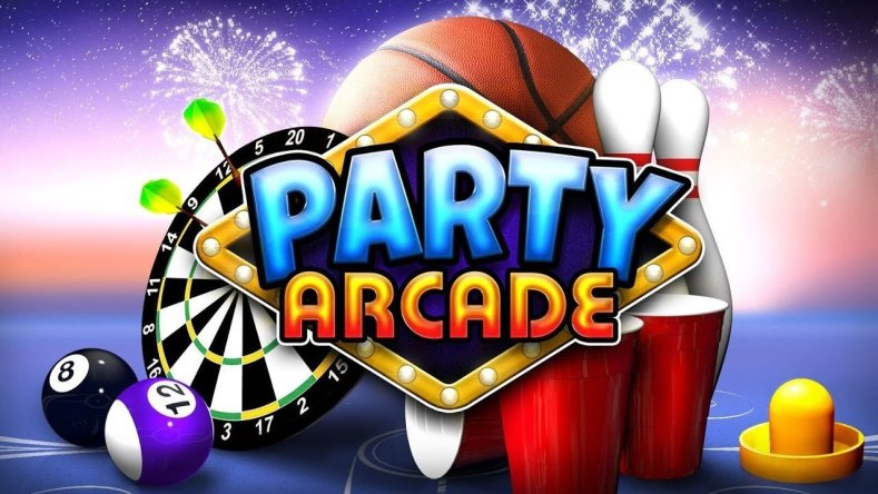 party arcade is the switch sequel to the wii's game party Party Arcade is the Switch sequel to the Wii's Game Party Party Arcade