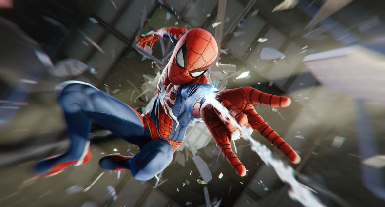 auto draft Marvel's Spider-Man Launches Today on Playstation 4 spider man ps4 preview glass