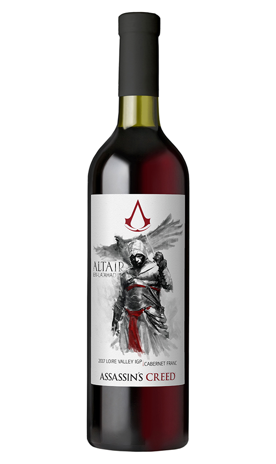 there is assassin's creed real life wine you and drink.... no, really. There is Assassin's Creed real life wine you and drink…. no, really. 2017 Alta  r Ibn Laahad Loire Valley IGP Cabernet Franc