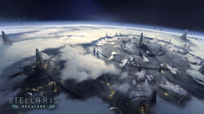 stellaris megacorp expansion trailer here Stellaris MegaCorp expansion trailer here Stellaris MegaCorp Story