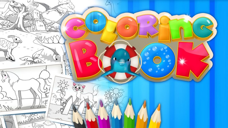 coloring book + dlc (switch) review Coloring Book + DLC (Switch) Review Coloring Book