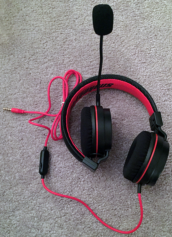 Snakebyte Headset S Switch 1up 2down