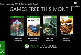 Xbox Live Games With Gold For January 2019 Xbox games with gold Jan 2019