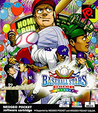 mygamer visual cast - baseball stars color (ngpc) MyGamer Visual Cast – Baseball Stars Color (NGPC) Baseball Stars Neo Geo Pocket Color