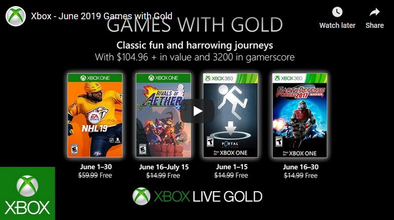 xbox live games with gold for june 2019 Xbox Live Games With Gold For June 2019 XBox Live Games with Gold Jun 2019