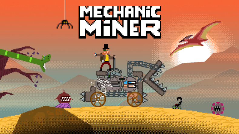 mechanic miner (pc) review (early access) Mechanic Miner (PC) Review (Early Access) with stream Mechanic Miner