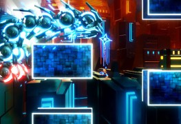 exception is a rotating neon combat platformer Exception is a rotating neon combat platformer Exception