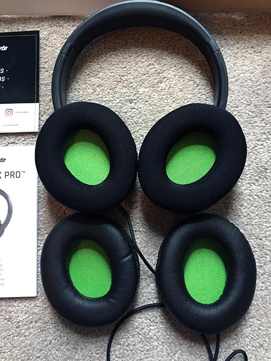 SnakeByte HeadSet X Pro earcups1