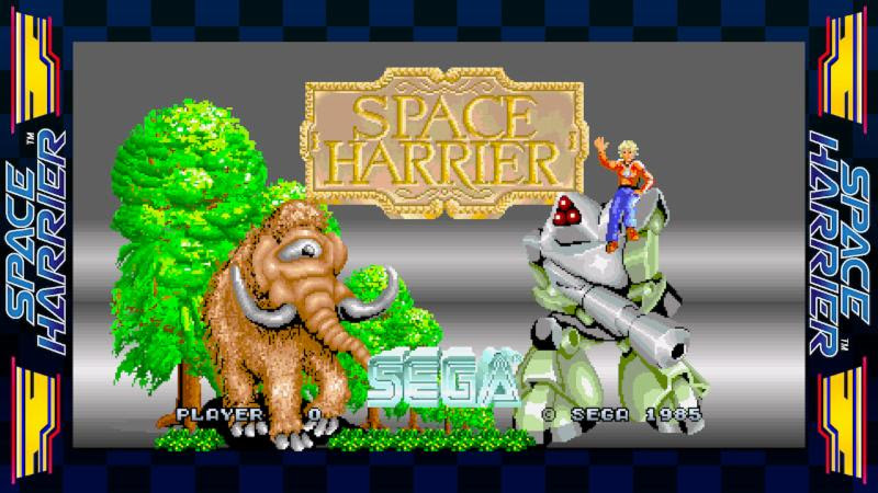 Space Harrier Sega Ages switch