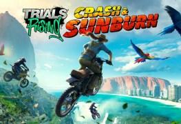 trials rising crash & sunburn trailer here Trials Rising Crash & Sunburn trailer here Trials Rising Crash Sunburn